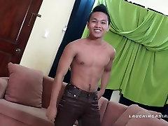 Gay Asian Foot Fetish Boy Nikos Jacking Off
