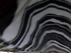 Quick bbw black milf up skirt
