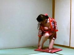 Japanese Tranny Beauty Pai-chan&039;s Kimono Strip Show