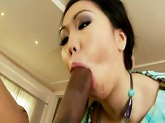 BBC destroyed her tight asian ass