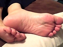 In-law asian granny soles candid