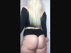Thick white girl with a fat ass