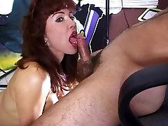 sperma coton Hot Mature Redhead Vanessa Bella