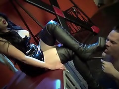 Asian Mistress loves getting her boot worshipped.