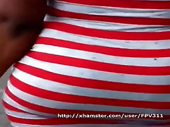 Red And White Big Booty Black MILF Part 1