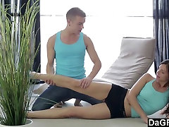 Dagfs Stretching is Important Before a Hardcore Anal Fuck