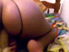 ebony ride dildo