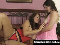 Charlee Chase Loves Big Natural TIts