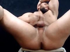 Muscle hairy bear