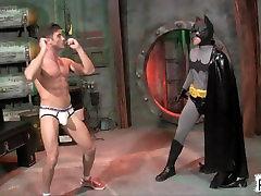 Batman vs The GoGo Boys GAY SUPERHERO DOMINATION