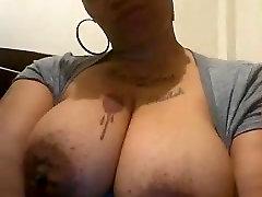 Big tit ebony