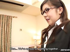 Asian babe receives the best double penetration of her life