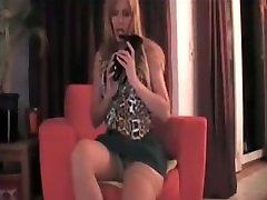 Blonde heel play