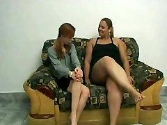 Slut Fat BBW Lesbians love licking wet shaven pussy juice-1
