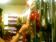 upskirt asian girl in pet shop