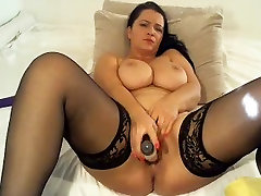 A Primer - Big natural tits mature dildo masturbation