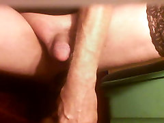 WHITE SISSY&039;S EXTREME CUNT GAPE AND BIG BLACK TOYS