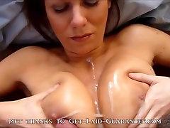 homemade big natural tits titfuck cumshot compilation