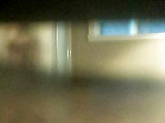 Under door spying MIL in shower