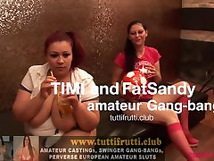 fat huge tits BBW Euro swinger Gang-bang