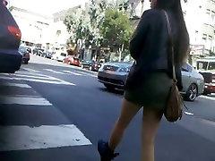 BootyCruise: Asian Babes Leg Art 10 - Short Skirt & Boots