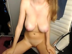 Big natural tits and big areolas girl