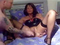 Mature German wife fist fisting experienc