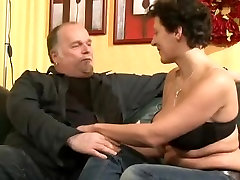 Mature German Couple On The Couch