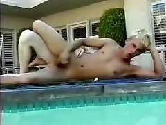 Hot Twinks Fucking at Poolside