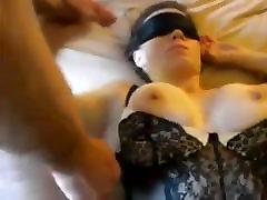 Troje Skupine Gang Bang Slutty Žena Skupine Sex