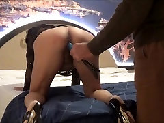italian bitch viola whipped by a BDSM master