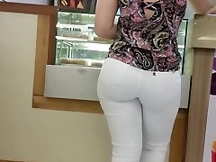 Voyeur Street Tight Teen Ass in Jeans K