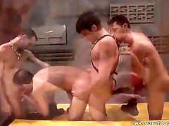 Enjoy in great gay group sex