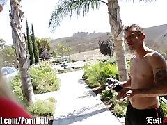EvilAngel Blonde MILF Titty Fuck and Hard Pounding
