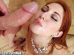 EvilAngel Rose Reds Horny Asshole Fucked Good