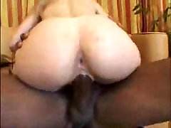 White Girl with Nice Arse Fucks Big Black cock