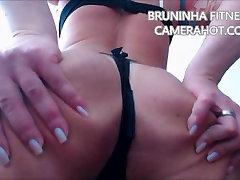 Latina big butt shaking booty and open ass on micro bikini