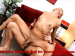 Beautiful Blonde Shemale Fucked Hard