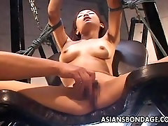 Asian skinny bdsm lover gets her h. Buena from 1fuckdate.com