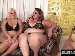 Becki Butterfly, Erin Green, Jade Rose, Lady Lynn plumper orgy