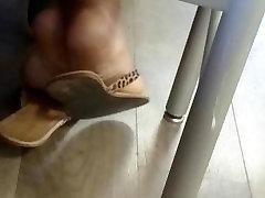 A Friends Candid Beautiful Ebony Feet