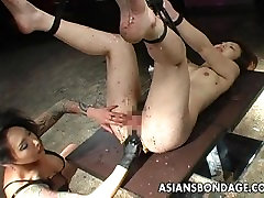 Very nasty vn hc sinh session for the ugly slut