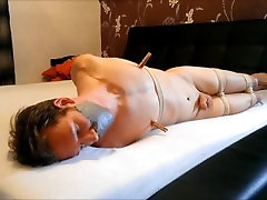 WSBP - Nacked Guy Tied and Gagged on the Bed! Full Version