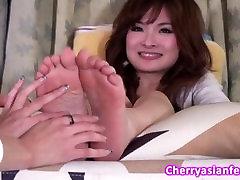 Tickle asian ticklish