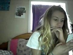cute teen teasing