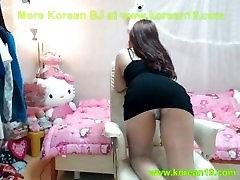 korean girl shows body big boobs