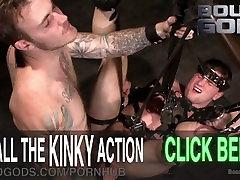 Cruel Interrogation Enhanced By BDSM