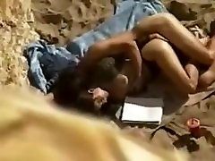 Couple is fucking on the Beach - Camsfree.us