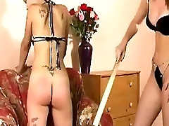 Lesbians Spanked Until Arses Glow Red