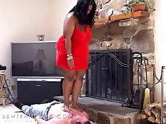 Ebony BBW Trample
